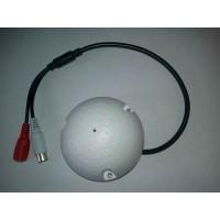 Mikrofón pre bezpečnostné EXTRA citlivý CCTV/AHD/CVI kamery TT-MIC009A
