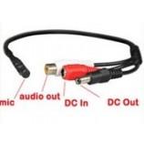 Mikrofon pro bezpečnostní CCTV/AHD/CVI kamery