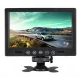 """LCD color monitor TFT 9"""", 800x480 pix., zobrazenie CCTV"""