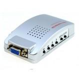 TV AV RCA S-VIDEO to PC VGA prevodník na VGA