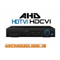 8CH hybridný DVR AHD-FD7108, 1080p, české menu