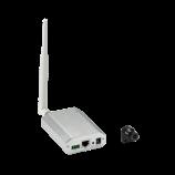 1 Mpx skrytá WiFi IP kamera Anbash NC128W, externé šošovka, P2P