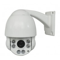 HD-TVI 1080p FULL HD, PTZ otočná kamera s 10x optickým ZOOMem, držák STROP/STĚNA venkovní IP66, IR-CUT, DWDR, 3D NR, Sense-up, RS485 (IP6C10XT20S)