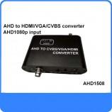 AHD to HDMI & VGA & CVBS převodník videa AHD1508