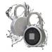 iLock - biometrický visiaci zámok s Bluetooth a čítačkou odtlačkov prstov, IP65