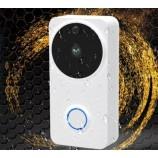 Smart video zvonček / batériový doorbell, vodotesný videozvonek 1MPx,  WIFI, SD, IP65, FT-P100SM02SD8G