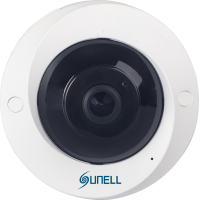 5MPx SUNELL SN-IPV57/50AGDR -  Fisheye kamera, rybie oko, ONVIF, AUDIO, DWDR, H265, SD, POE, IVA