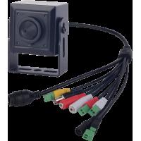 2MPx Starvis skrytá H265 SUNELL SN-MNC57/20AG - WDR dierkové kamera, Onvif, Audio I/O, Alarm I/O, SD, IVA