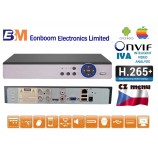 4CH DVR/XVR MHD-0801 5.0 MPx H.265+, IVA,  HDMI, P2P, AUDIO, ONVIF, CZ menu NOVINKA