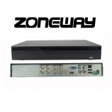 32CH IP (8CH AHD)  8MPx hybridný rekordér 4K XVR, ONVIF, H265, HDMI, RS485, P2P,UTC, CZ menu, AUDIO (ZONEWAY XVR3108DB)