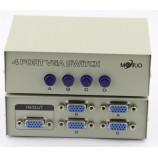 4CH VGA rozbočovač, maximálne rozlíšenie 1920 * 1440, bez nutnosti napájania