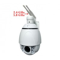 2MPx IP WiFi kamera iSeetec  INP6A4XC20SD-WIFI-DMIP, 4x ZOOM, highspeed PTZ, 2,4Ghz/5,8Ghz Wifi