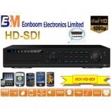 HD-SDI video rekordér pro 8 kamer EN-5408, 1080p, české menu, 4x HDD